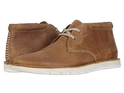 Clarks Forge Stride (Tan Leather) Men