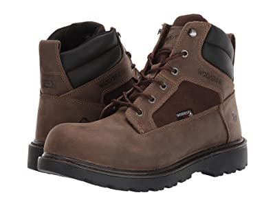 Wolverine Roughneck EPX 6 Steel Toe Work Boot (Fossil) Men