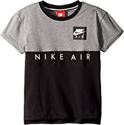 Nike® Air Short Sleeve Color Block Top (Little Kids)