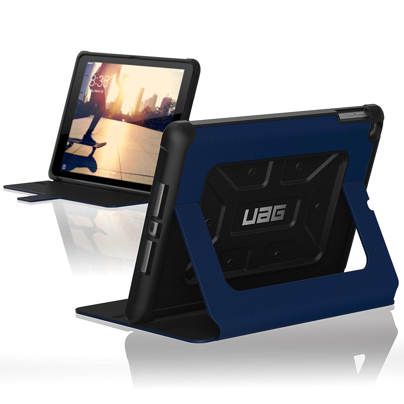 URBAN ARMOR GEAR IPD17-E-CB UAG Folio New iPad (2017, 9.7-inch) Feather-Light Rugged [Cobalt] Military Drop Tested iPad Case