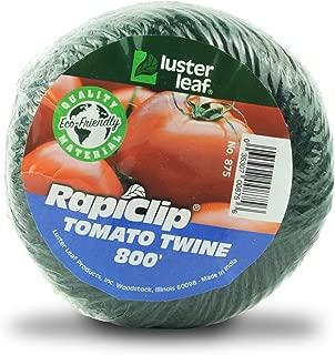 Luster Leaf Rapiclip Garden Tomato Twine-800 Foot Roll 875, Green