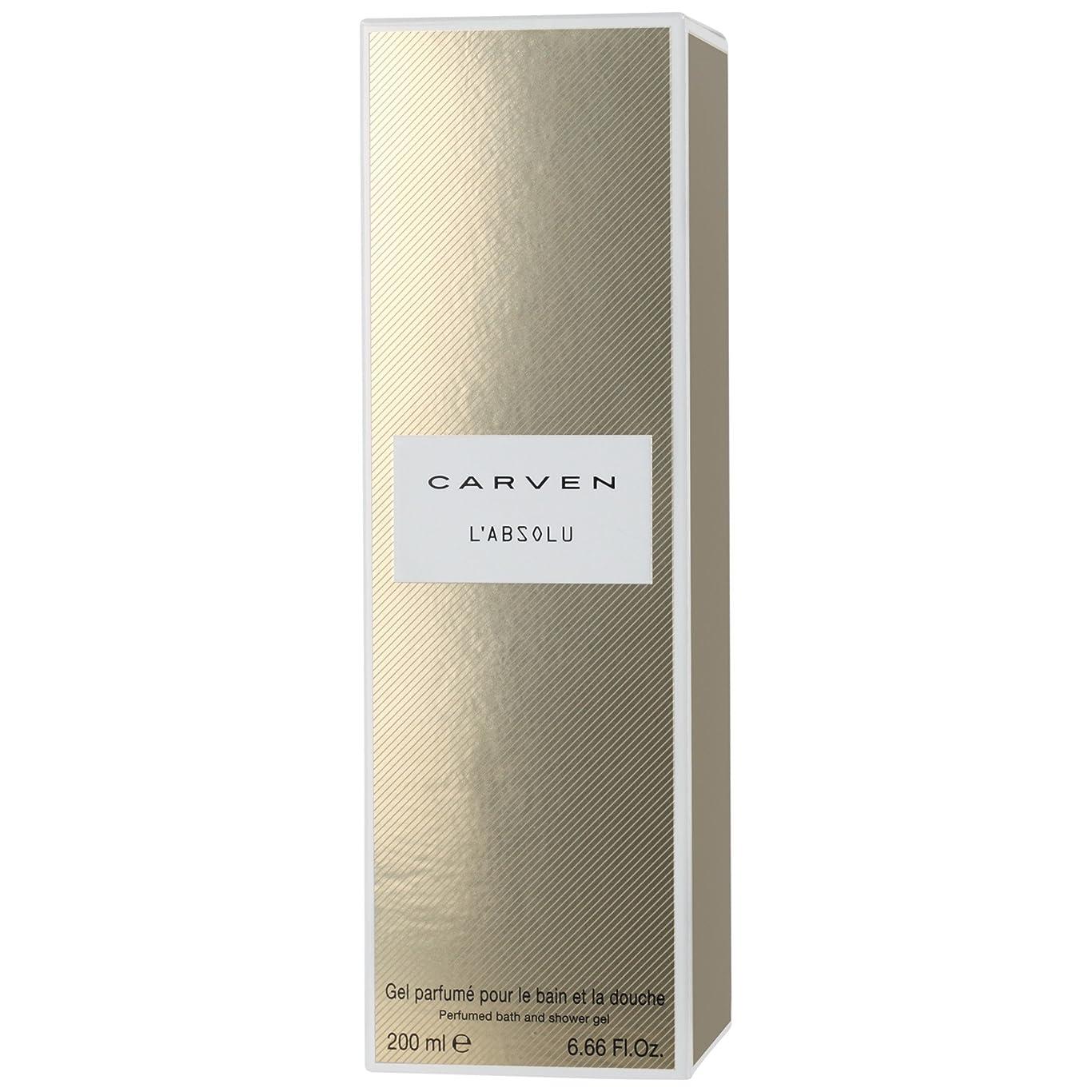 傾向があるブランク叙情的なCarven L'Absoluシャワージェル200ミリリットル (Carven) - Carven L'absolu Shower Gel 200ml [並行輸入品]