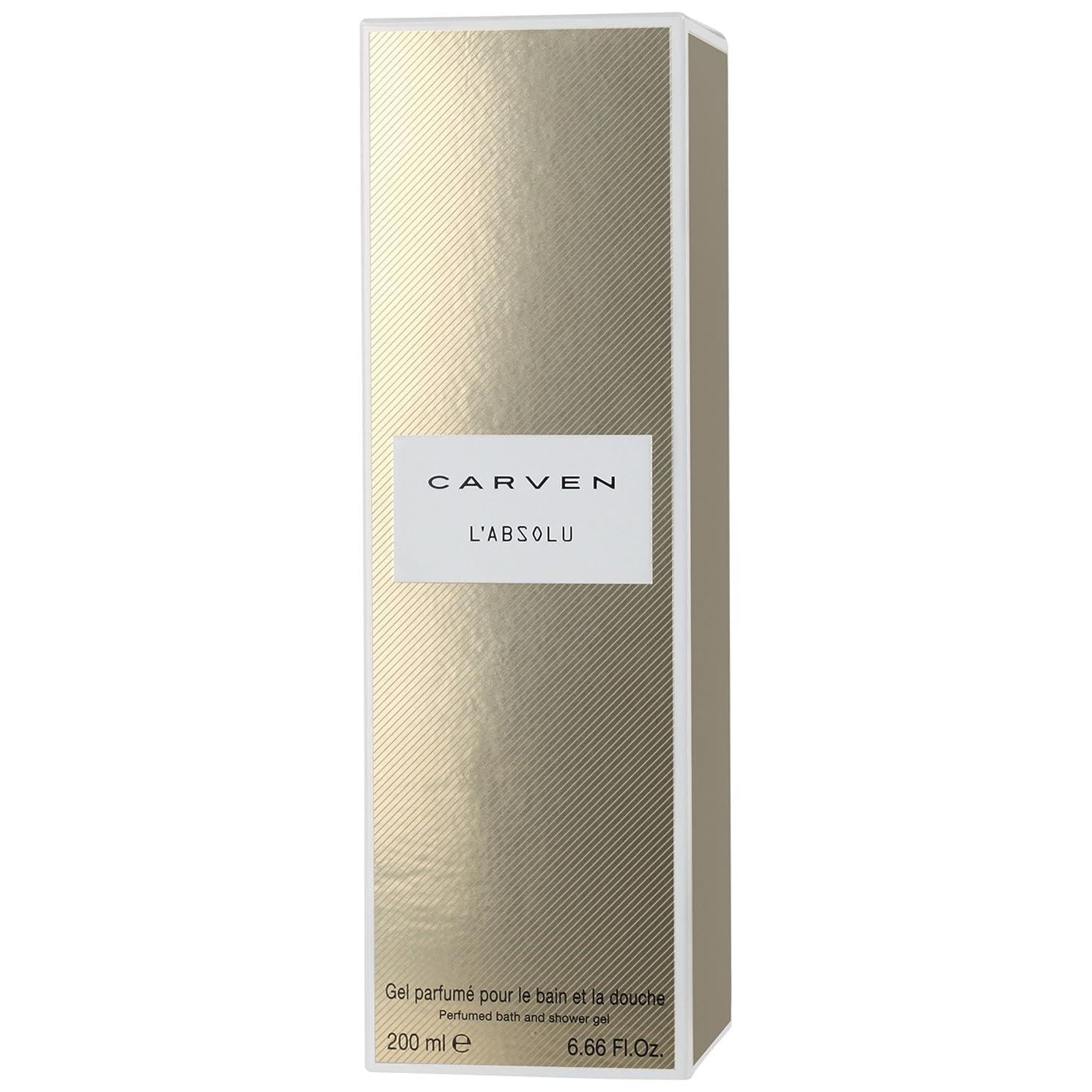 できる昆虫豊富にCarven L'Absoluシャワージェル200ミリリットル (Carven) - Carven L'absolu Shower Gel 200ml [並行輸入品]