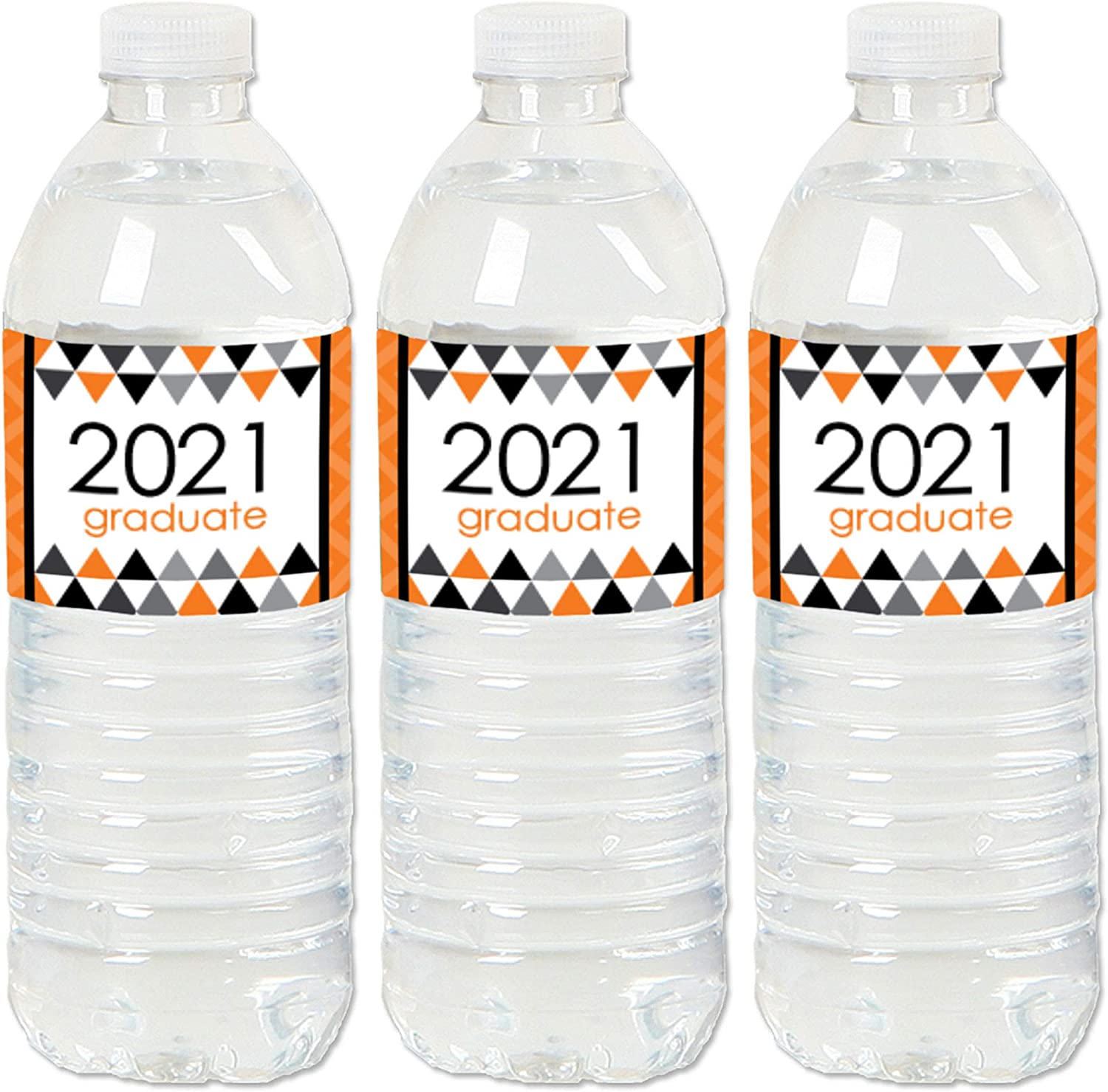 Set of 20 Big Dot of Happiness Maroon Grad Best is Yet to Come 2021 Burgundy Graduation Party Water Bottle Sticker Labels