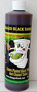 TankTechsRx 26834 TankDrx for Plugged Black Tanks 16oz