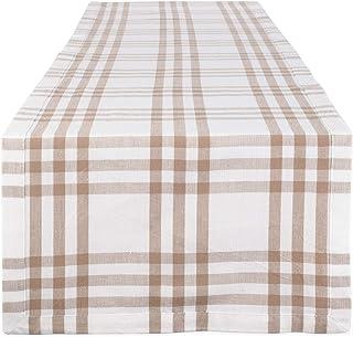 DII Farm to Table Kitchen Textiles, 14 x 72 Runner, Stone