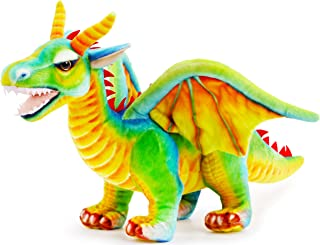 VIAHART Drevnar The Dragon | 26 Inch Stuffed Animal Plush | by Tiger Tale Toys
