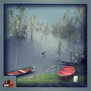 Rainy Lakeside