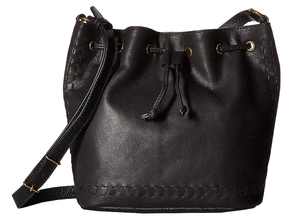 The Sak Gigi Drawstring Three-Way by the Sak Collective (Black Block) Handbags