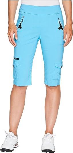 """New Skinnylicious 24.5"""" Knee Capris"""
