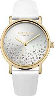 Daisy Dixon Womens Analogue Classic Quartz Watch with Leather Strap DD053WG