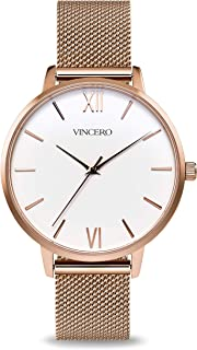 Luxury Women's Eros Wrist Watch with a Leather Watch Band...