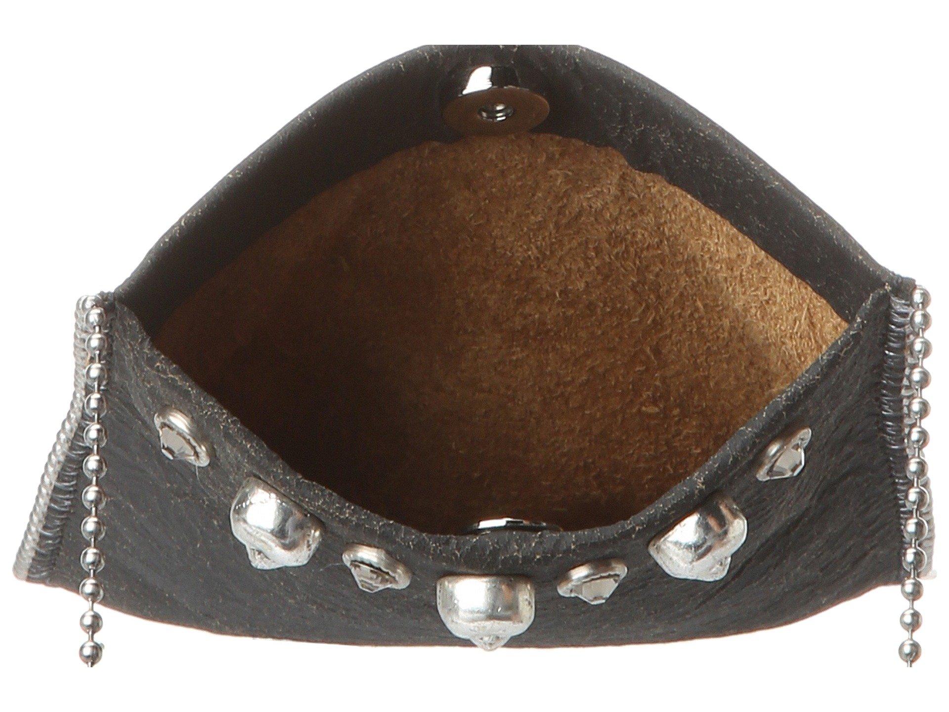 grey Flake Black Pouch crossbody Leatherock skulls Cell pXxB4q6wT
