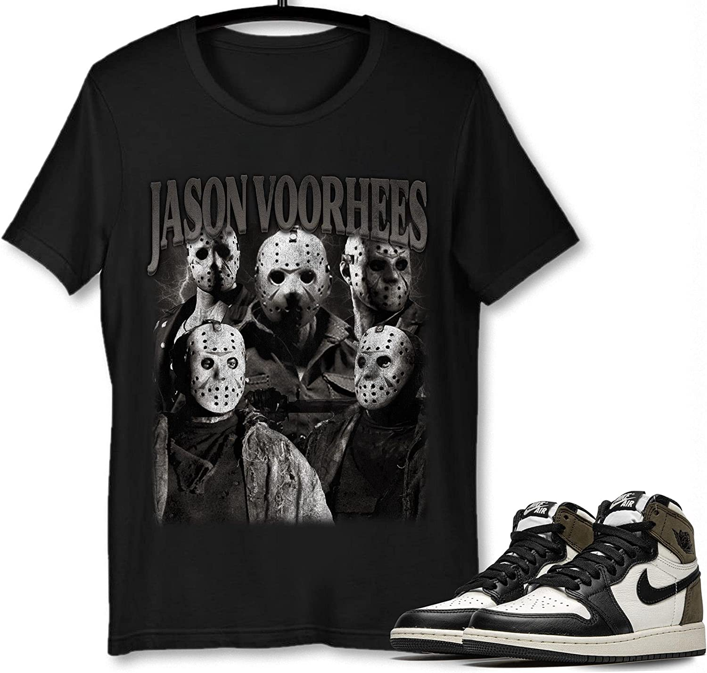 #Jason Inexpensive #Voorhees T-Shirt to Match Overseas parallel import regular item Jordan Sneaker Sn Mocha 1 Dark