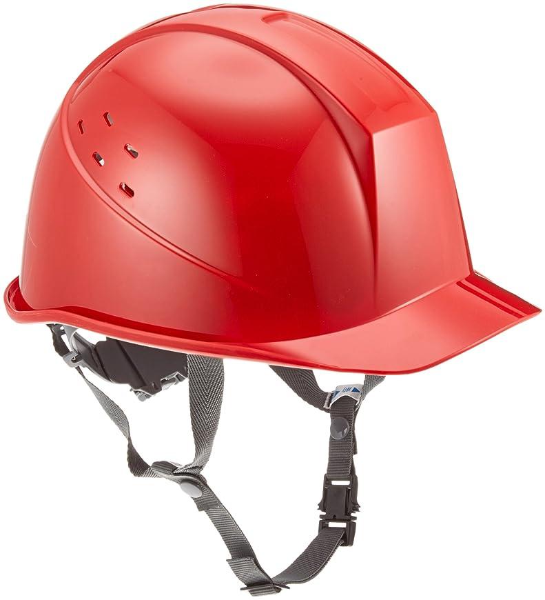 ミドリ安全 ヘルメット 一般作業用 通気孔付 SC11BV RA KP付 レッド
