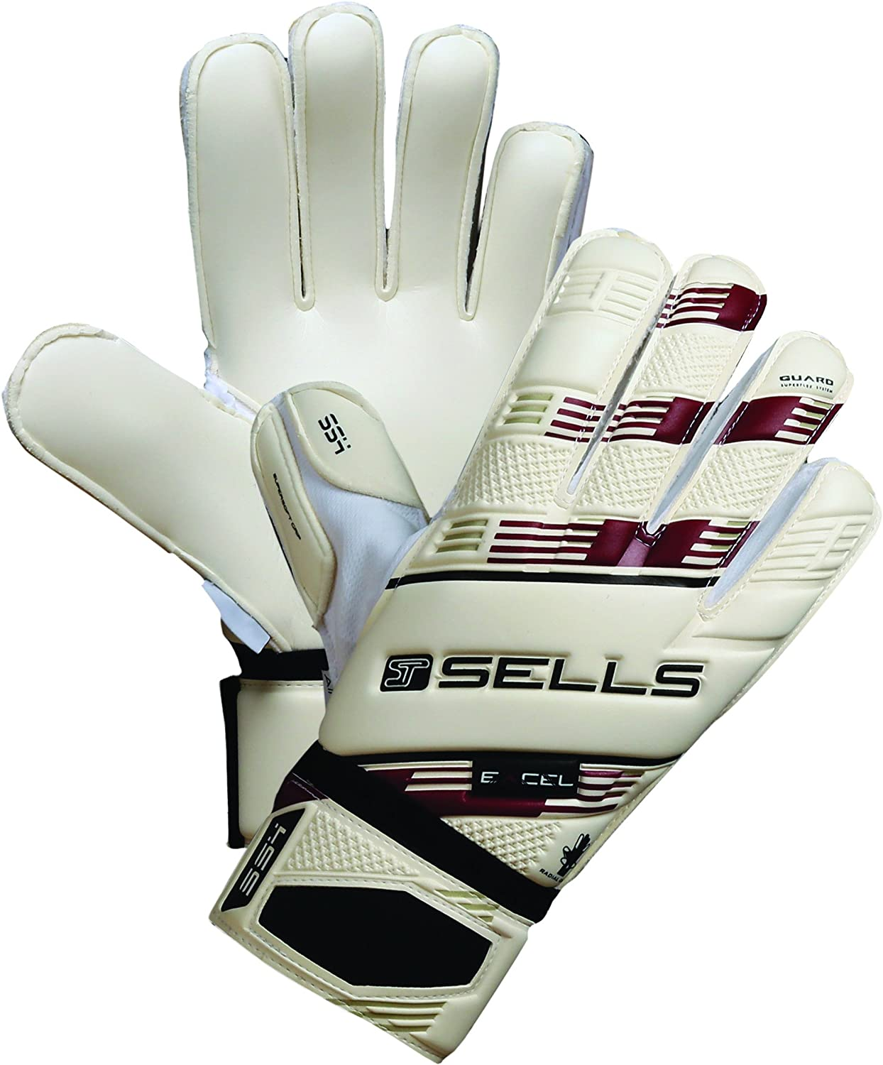 Pair Sells Goalkeeper Products Total Contact Excel Supersoft 3 Goalkeeper Gloves