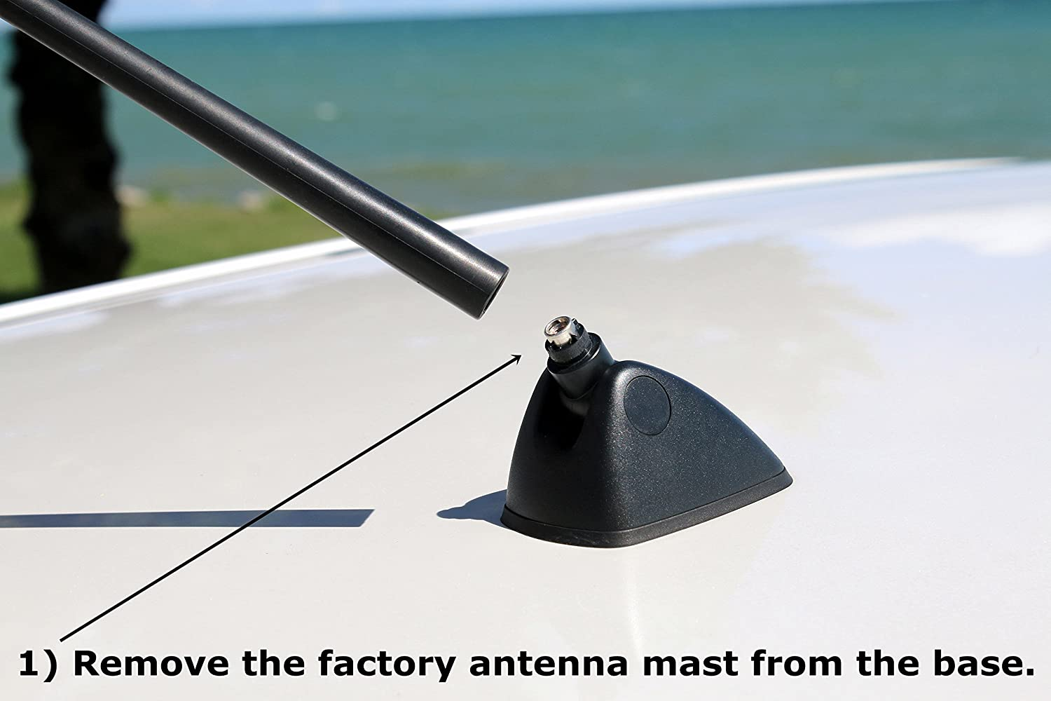 - Car Wash Proof Short Rubber Antenna 2010-2016 Premium Reception Internal Copper Coil AntennaMastsRus The Original 6 3//4 Inch is Compatible with Hyundai Tucson German Engineered