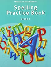 Storytown: Spelling Practice Book Student Edition Grade 4