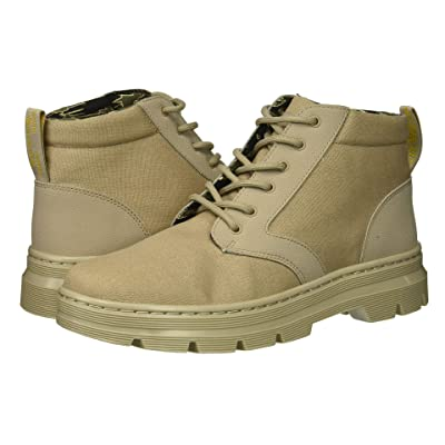 Dr. Martens Bonny II Tract (Taupe Broder/Taupe 10oz Canvas) Boots
