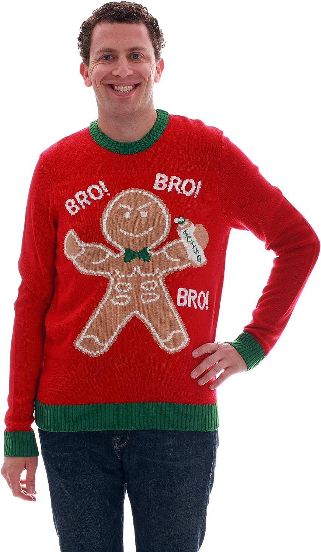 dd6befa0f3 blueeeberi Boulevard Mens Ugly Ugly Ugly Christmas Sweater - Sweaters Men  036406