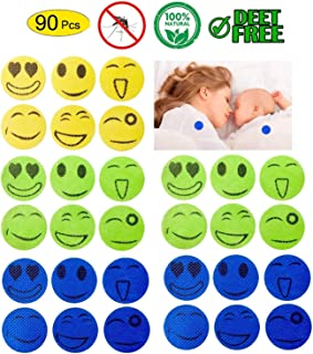 Gpeng Mosquito Repellent Patches 90 Pcs, Non-Toxic, Safe for Kids and Men Women