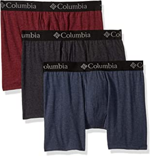 Men's Performance Cotton Stretch Boxer Brief-3 Pack