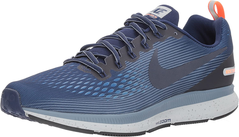 Nike Herren Air Zoom Pegasus 34 Shield Fitnessschuhe Schwarz Niedrige Kosten