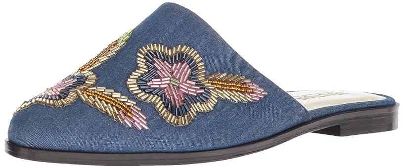 バスケットボール航海のリズム[Kenneth Cole REACTION] Womens speed floral Closed Toe Casual Slide Sandals [並行輸入品]
