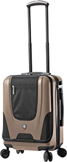 Mia Toro Ibeido Hardside Spinner Luggage Carry-on, Champagne