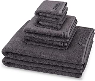 SEMAXE Cotton Towel Set,2 Bath Towel, 2 Hand Towel, 2 Washcloth, Hotel Quality Combed Cotton,Absorbent and Quick Dry, Fluf...