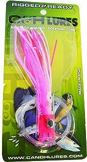 C&H RRSB-8 Rig & Ready Stubby Bubblr, 5-1/2-Inch, Pink/White/Pink Mylar