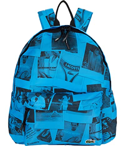 Lacoste Polaroid All Over Print Small Backpack
