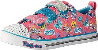 Skechers Kids' Sparkle Glitz-Pretty Pop Sneaker