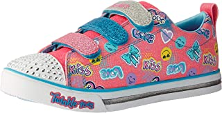 Skechers Kids' Sparkle Glitz-Pretty Pop Sneaker