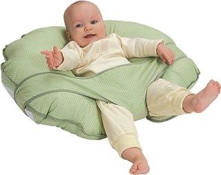 Leachco Cuddle-U Basic Nursing Pillow and More, Sage Pin Dot
