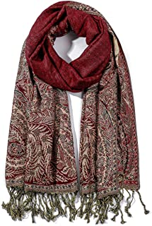 Best red paisley scarf Reviews