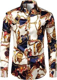 silk shirt mens