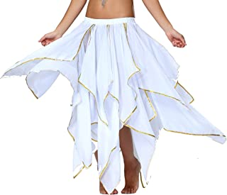 Best white and gold skirt Reviews