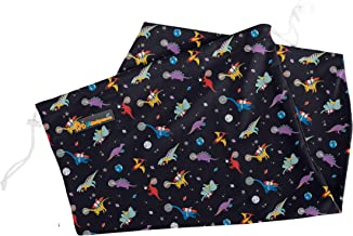 Lil Helper Multipurpose Large Wet Bag for Diapers, Beach, Swimwear, Pool, Gym, Travel (Space Dinos)