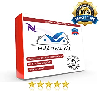 48 hour Lab Certified Mold Test, Lab Analysis of Two Mold Samples (2 tests) Included. Lab Analysis and Expert Consultation. #1 Lab Certified Mold Test!
