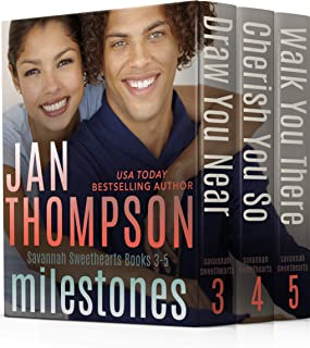 Milestones: Savannah Sweethearts Books 3-5: Inspirational Christian Coastal City and Beach Town Commitment Romance (Sweethearts Boxed Set Collection Book 2) (English Edition)
