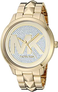 Michael Kors Women's Runway Mercer Quartz Watch with Stainless Steel Strap
