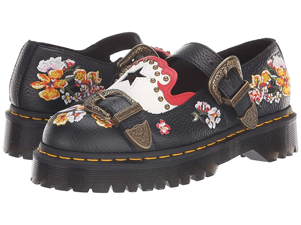 Dr. Martens Mukai Core Bex (Black Aunt Sally/White Smooth/Burnt Red Smooth) Women