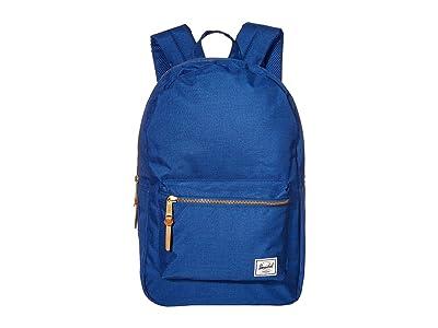 Herschel Supply Co. Settlement (Monaco Blue Crosshatch) Backpack Bags