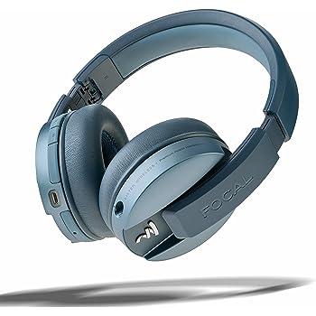 casque audio sans fil bleue