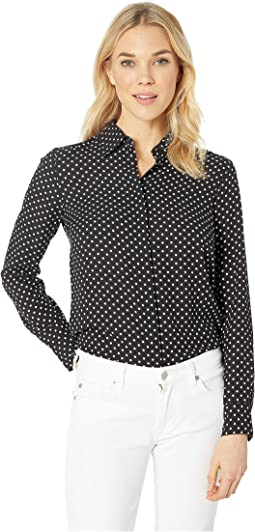 Georgette Button Down Shirt