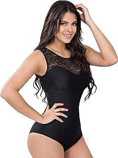 e62366edb Powernet Fashion Body Slimming Blouse Cami Shaper Fajas Colombianas  Reductoras Blusas Black 700B