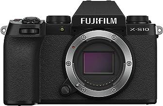 Fujifilm X-S10 Mirrorless Camera Body- Black, X-S10 Body- Black