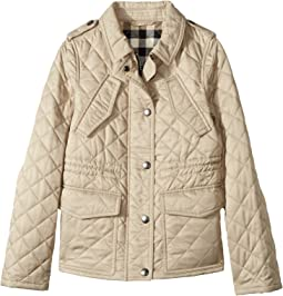 Burberry Kids, Coats & Outerwear, Girls | Shipped Free at Zappos : kids quilted jacket - Adamdwight.com
