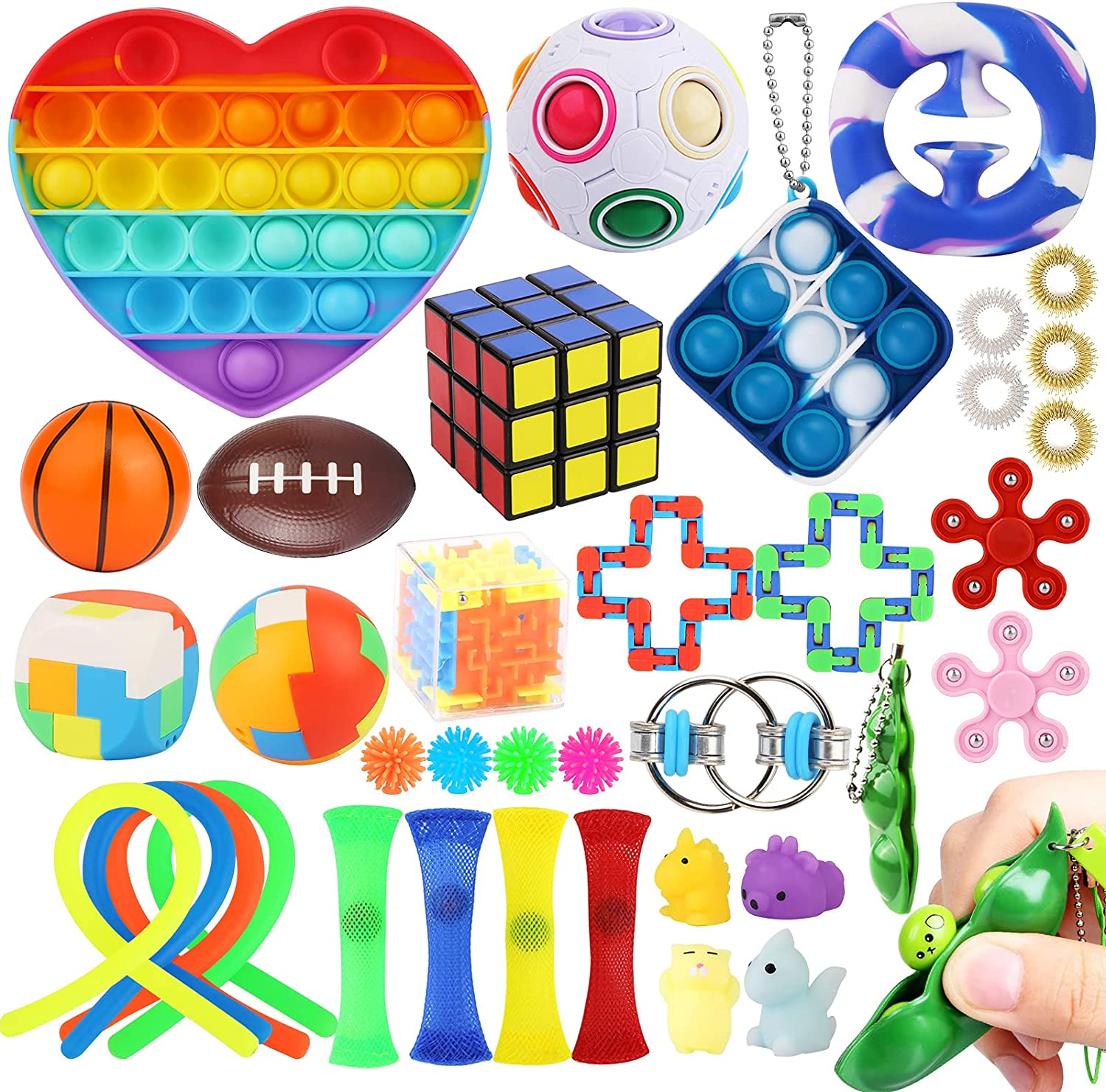 Year-end annual account 67% OFF of fixed price 37 Pcs Sensory Fidget Toys for Toy Adults&K Box Set